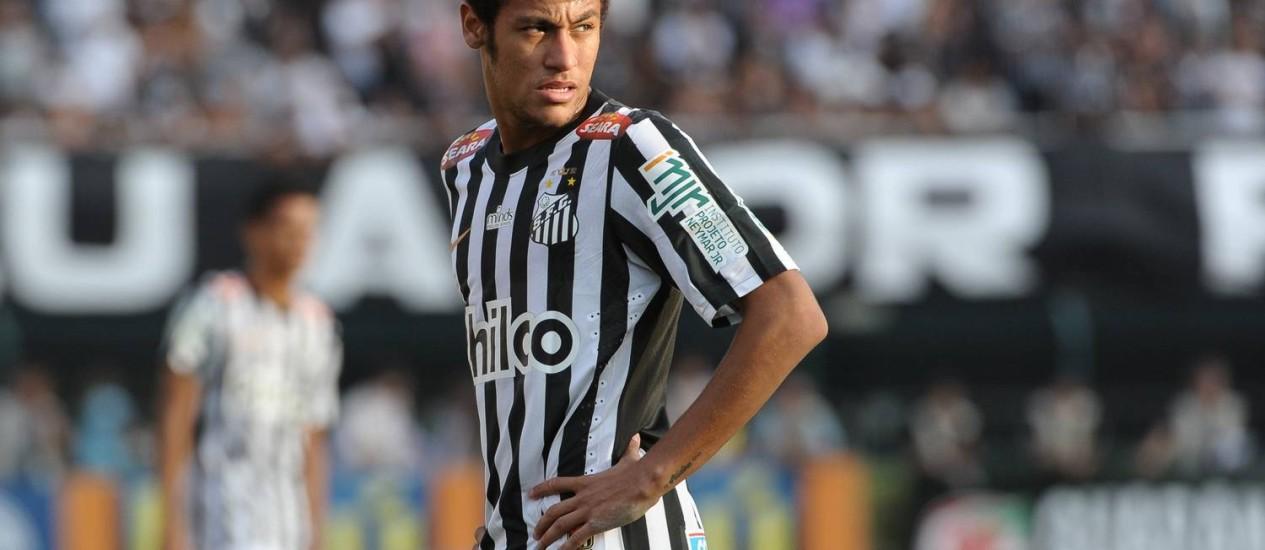 Neymar em foto de arquivo Foto: Yasuyoshi Chiba / AFP