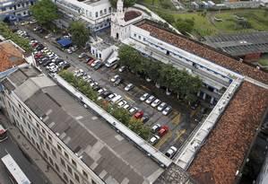 Imagem aérea do Quartel-General da Polícia Militar Foto: Domingos Peixoto / O Globo