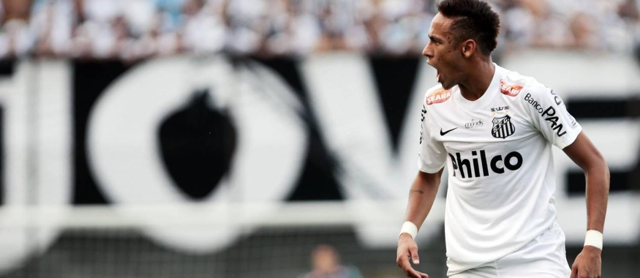 Neymar deve ter o seu futuro definido nesta quarta-feira Foto: Miguel Schincariol / AFP