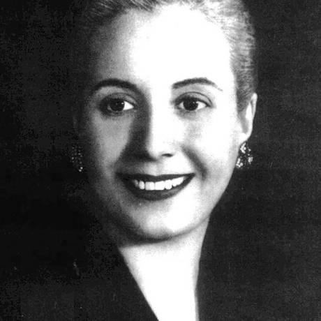Eva Perón Foto: Arquivo