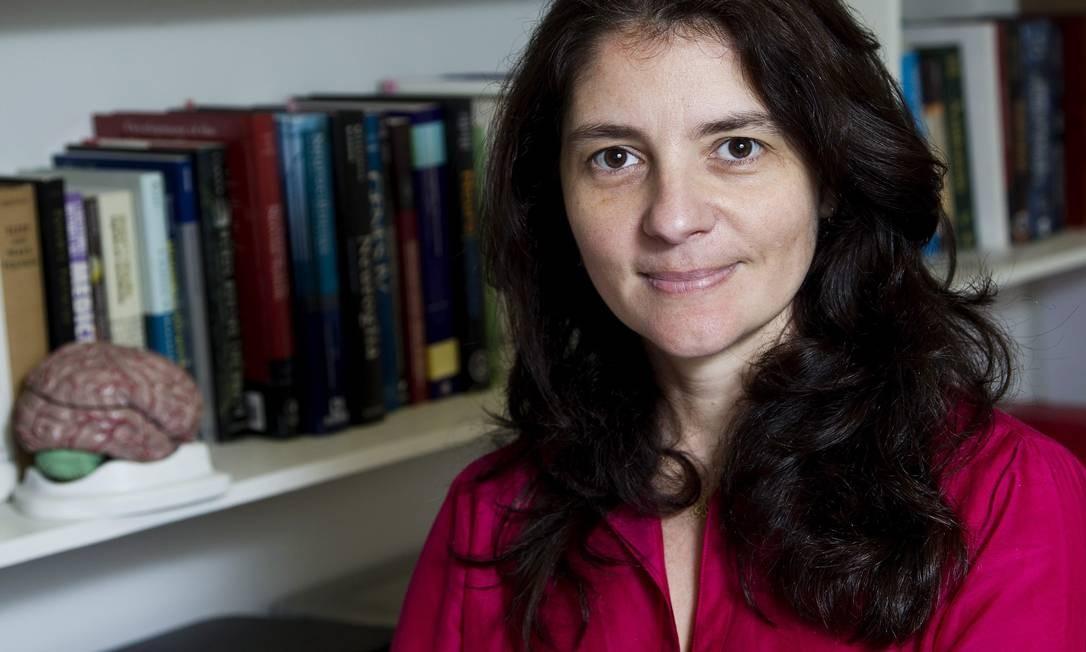 Suzana Herculano-Houzel, professora do Instituto de Ciências Biomédicas da UFRJ Foto: Guito Moreto