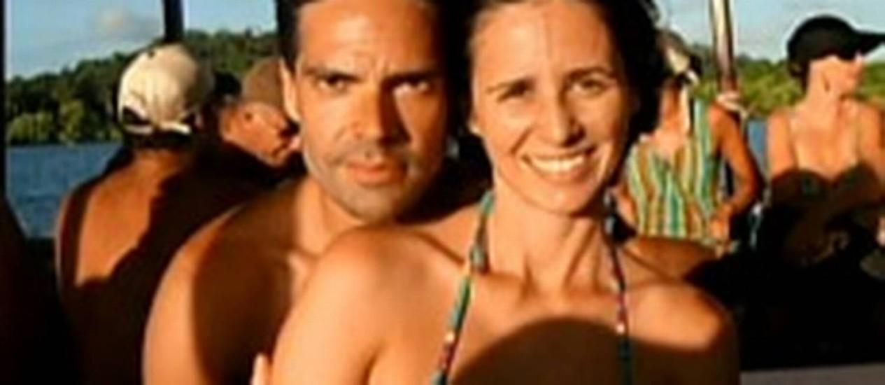 Casal foi morto por vizinho dentro de apartamento Foto: Reprodução/TV Globo