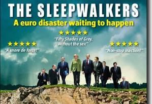 """""""O desastre do euro é uma questão de tempo"""", sentencia a matéria principal da revista The Economist Foto: Reprodução"""