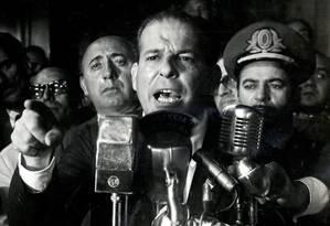 O ex-presidente João Goulart: tomografia será feita na PUC-RS Foto: Terceiro / Divulgação/O dia que durou 21 anos