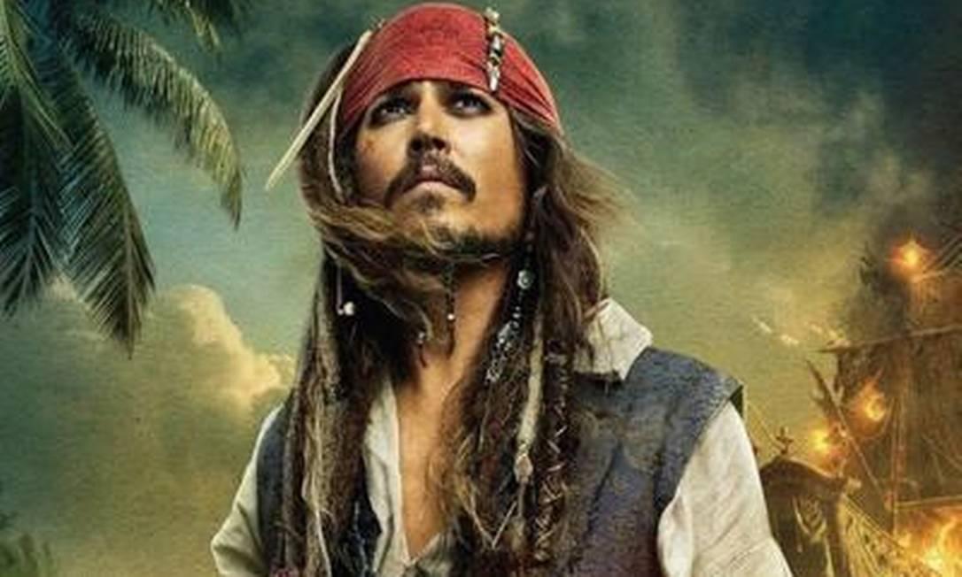 Segundo autor, 'Piratas do Caribe', da Disney, roubou suas ideias Foto: Divulgação