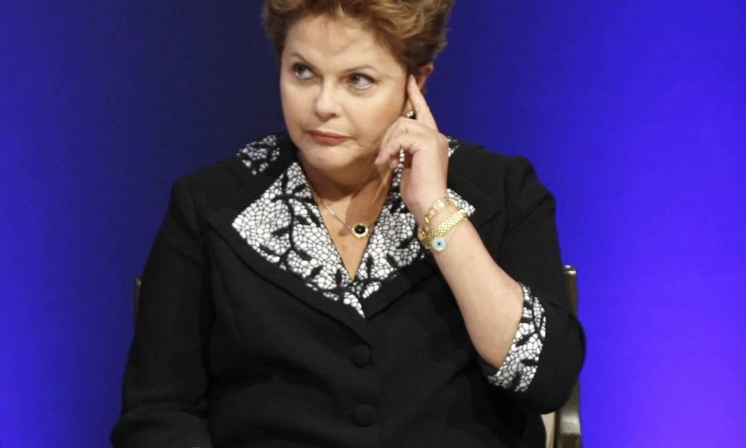 Presidente mantém popularidade; mas crise PT-PMDB pode se refletir na votação de Dilma Foto: O GLOBO / Márcio Alves/6-5-2013