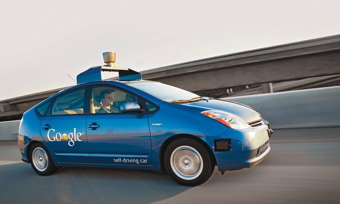 Carro totalmente autônomo da Google Foto: Divulgação