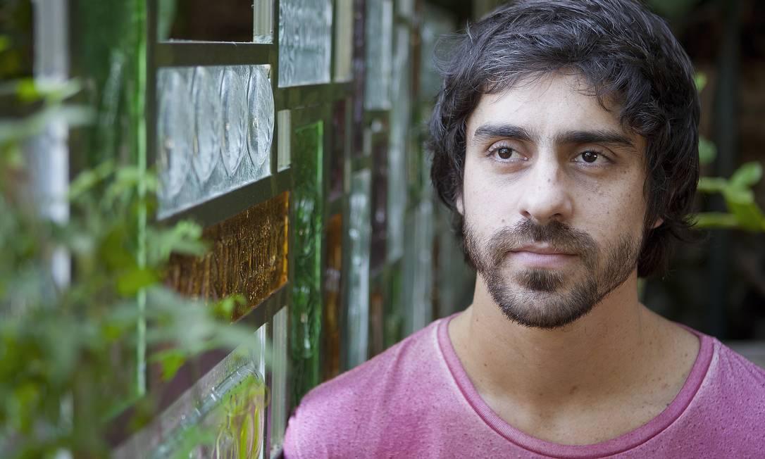 O ator Felipe Abib Foto: Gustavo Stephan