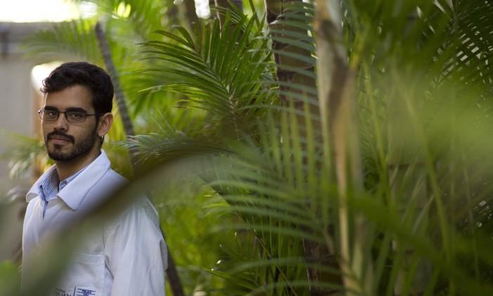 Patrick d'Oliveira faz estágio em Gestão Ambiental Foto: Paula Giolito / Agência O Globo