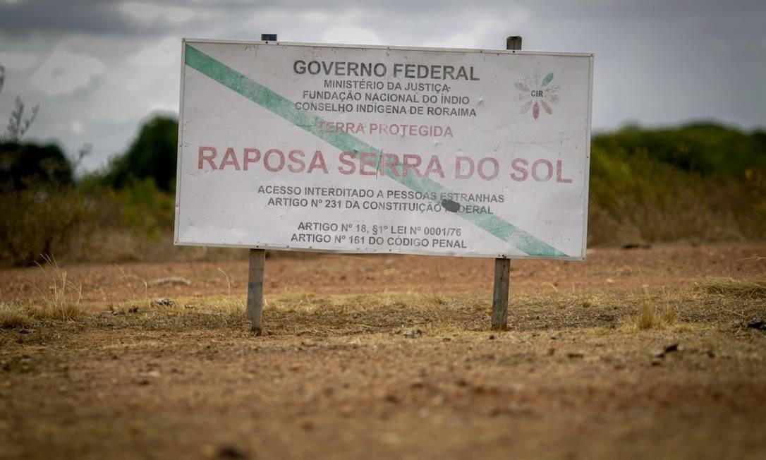 Com 1,7 milhão de hectares, a Terra Indígena Raposa Serra do Sol está em posse dos índios de cinco etnias, mas sua demarcação segue sendo um tema polêmico em Roraima. Foto: Comissão de Integração Nacional, Desenvolvimento Regional e da Amazônia
