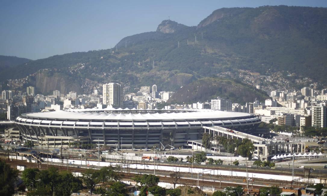 Estádio vai receber jogo entre Brasil e Inglaterra Foto: Pablo Jacob / Agência O Globo