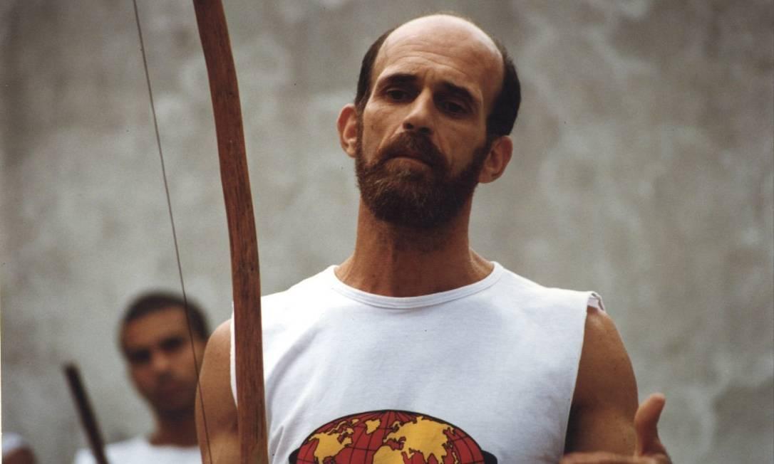 26.08.1998 - DIVULGAÇÃO/RAQUEL SILVA - EXT SX - CAPOEIRA - MESTRE CAMISA. Foto: Raquel Silva / Divulgação/26.08.1998