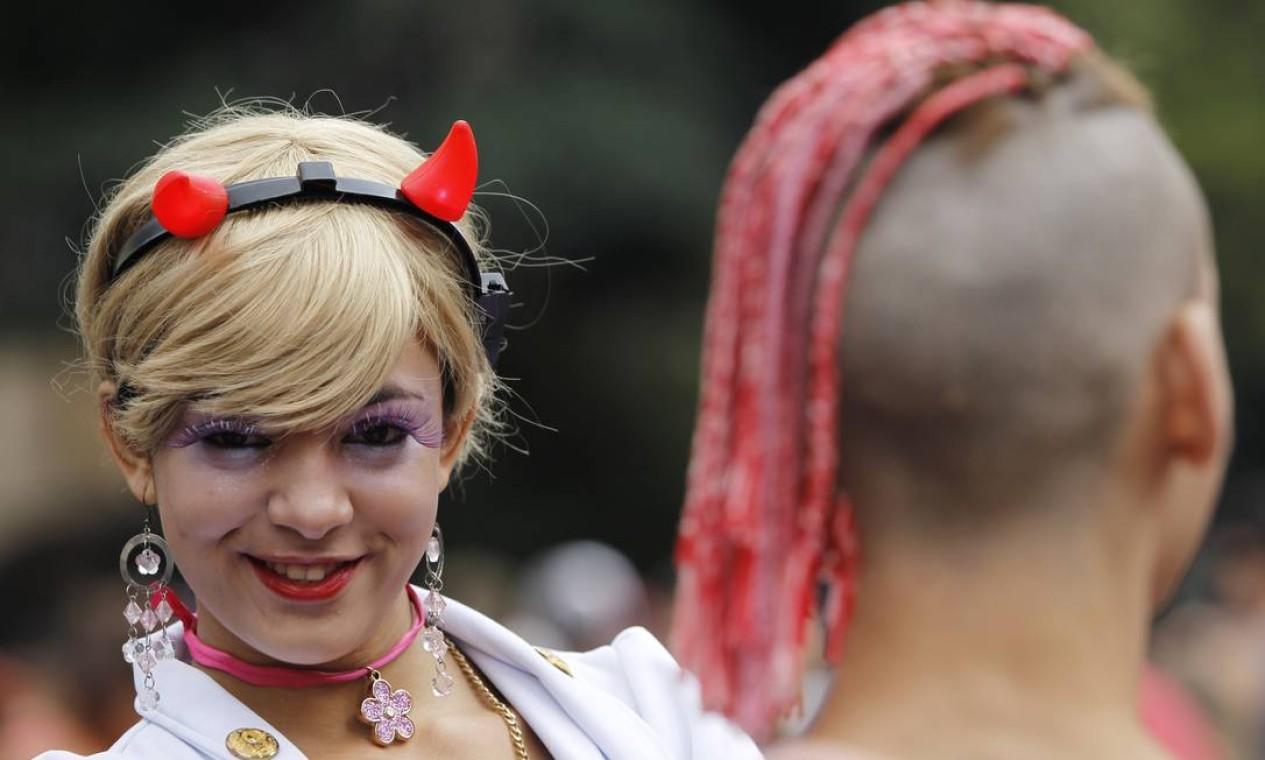 Parada Gay está na décima sétima edição Foto: Michel Filho / Agência O Globo