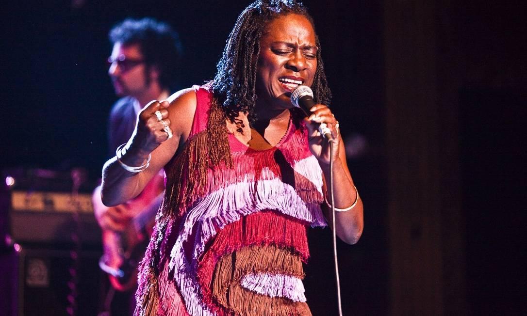 Cantora Sharon Jones Foto: Divulgação