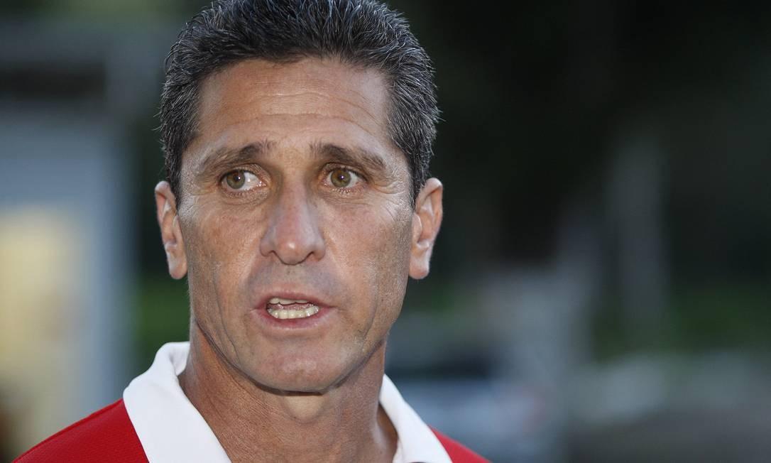 Jorginho foi demitido do Flamengo após 14 partidas Foto: Márcio Alves / O Globo