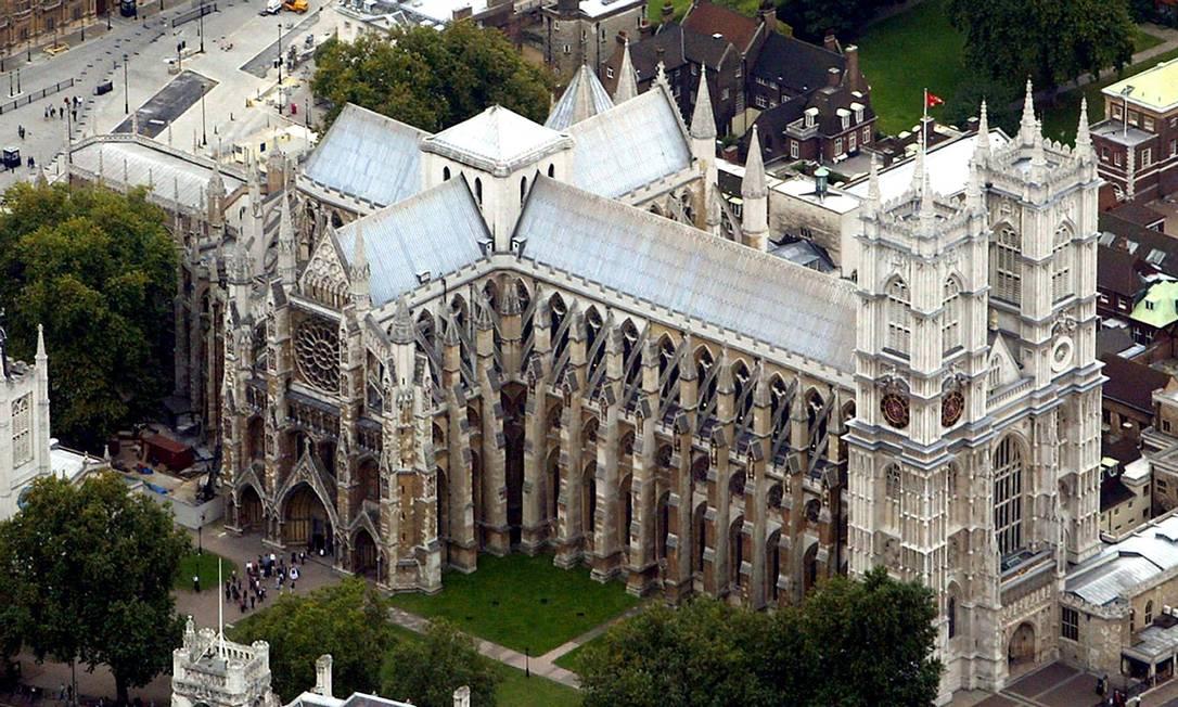 Abadia anglicana de Westminster, frequentada pela monarquia do Reino Unido Foto: Andrew Parsons / AP