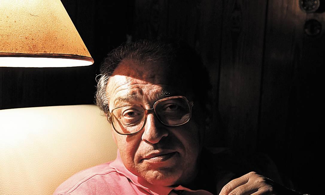 Em novo livro, Ruy Castro diz não sentir saudade do passado Foto: Camilla Maia