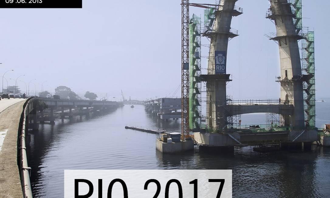 Reprodução da capa da edição especial do Globo a Mais sobre a transformação que o Rio de Janeiro está vivendo por causa dos grandes eventos Foto: Agência O Globo