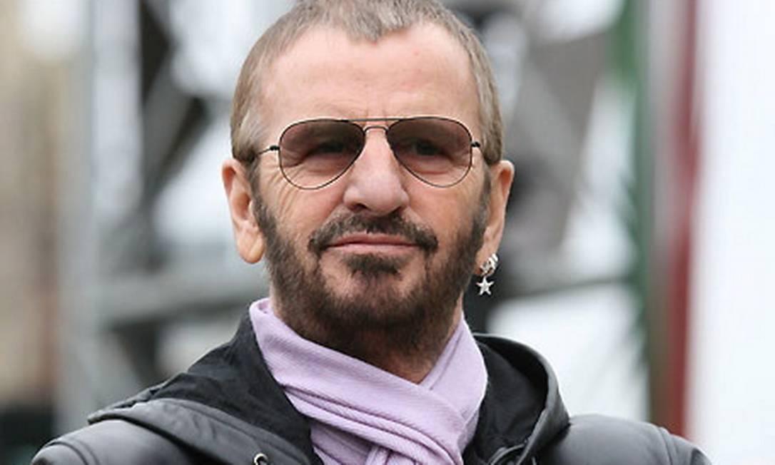 O ex-Beatle Ringo Starr vai lançar livro infantil Foto: Agência O Globo