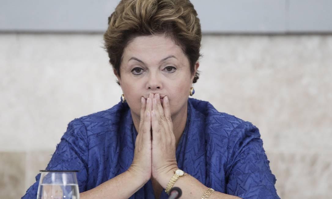 A presidente Dilma Rousseff, em foto de arquivo Foto: Jorge William/ O Globo