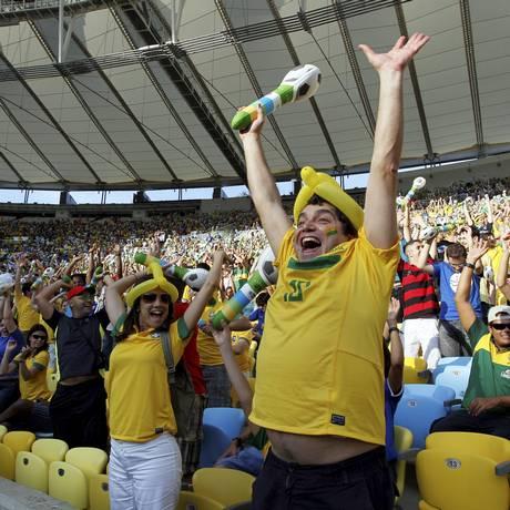 Para garantir o acesso do torcedor ao Judiciário, Maracanã terá plantão especial durante a Copa das Confederações Foto: Cezar Loureiro / Cezar Loureiro