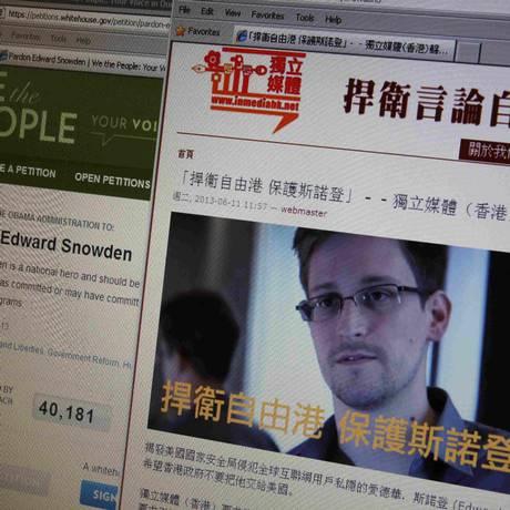 Jornal local afirma que Snowden continua em Hong Kong e não tem intenção de sair do país Foto: BOBBY YIP / REUTERS