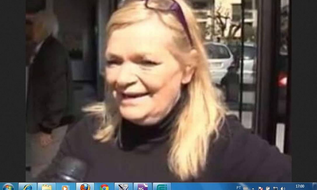 Dolores Valandro: vereadora pediu desculpas Foto: Reprodução de TV