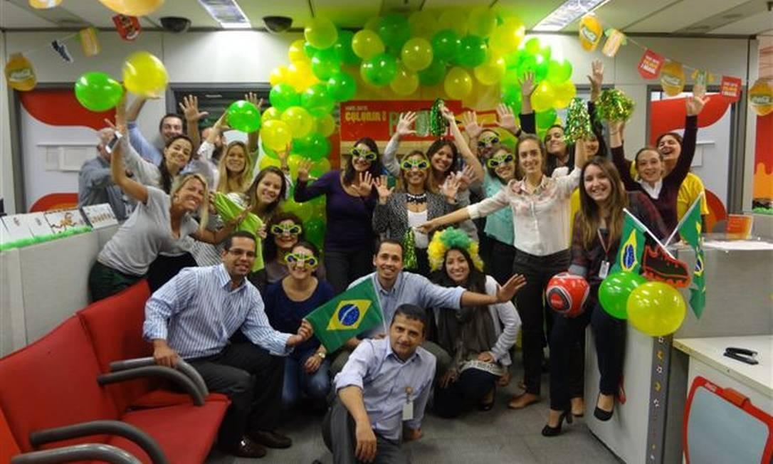 bc50c7cb07 Empresas entram no clima da Copa das Confederações - Jornal O Globo