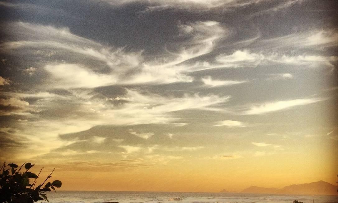 Composição entre céu e mar Foto: Divulgação/Clarisse Granadeiro