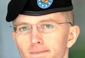 Bradley Manning, fonte do Wikileaks, foi encarcerado no Kwait em 2010 Foto: AP