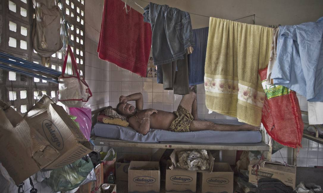 Presos no Hospital Psiquiátrico Valter Alencar Foto: Agência O Globo / André Coelho