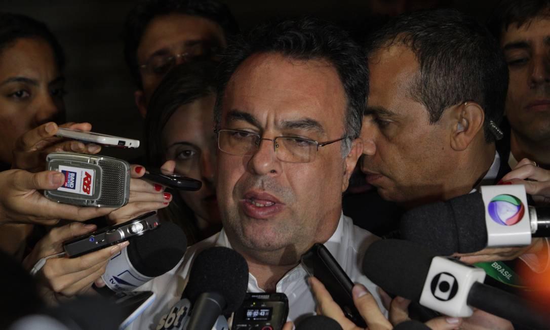 O deputado André Vargas, presidente em exercício da Câmara Foto: André Coelho / O Globo - 18/06/2013