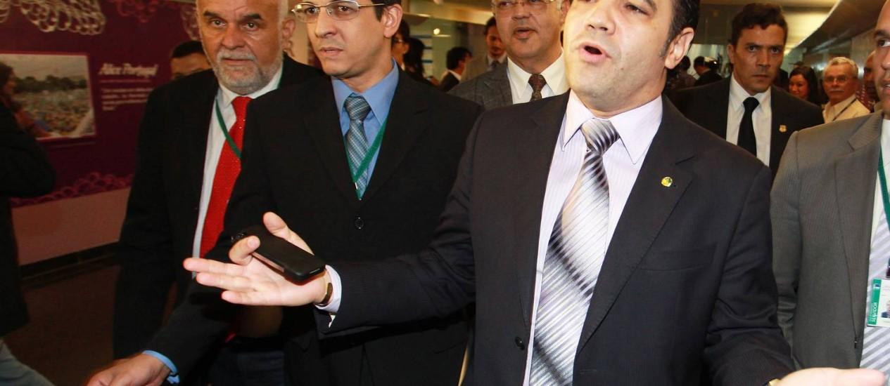 Presidente da Comissão de Direitos Humanos e Minorias da Câmara, deputado federal Pastor Marco Feliciano (PSC-SP) Foto: Ailton de Freitas / Arquivo O Globo 4/4/1975