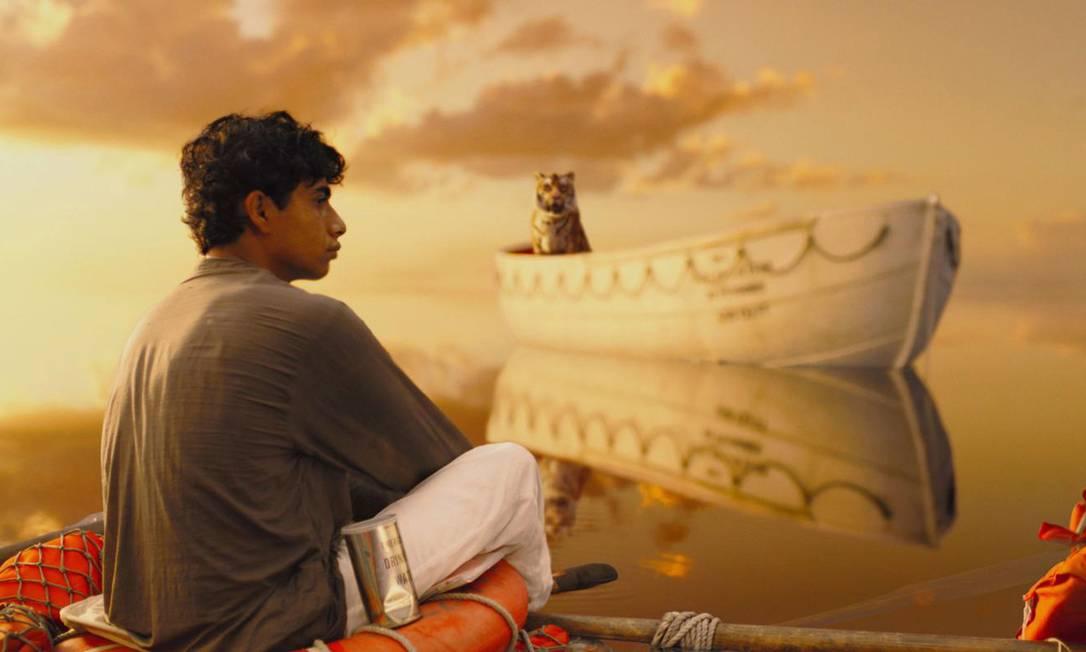 """O filme """"As aventuras de Pi"""", de Ang Lee, é um exemplo de determinação e de força de vontade. Foto: Terceiro / Divulgação"""