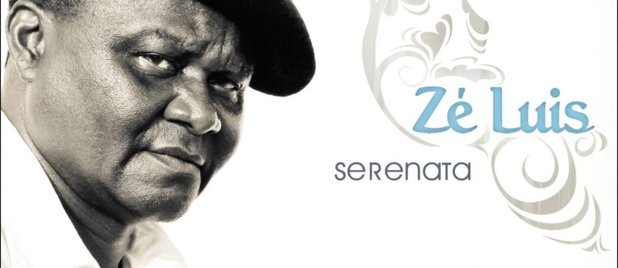 """Capa de """"Serenata"""", álbum de Zé Luis. Foto Divulgação Foto: Agência O Globo"""