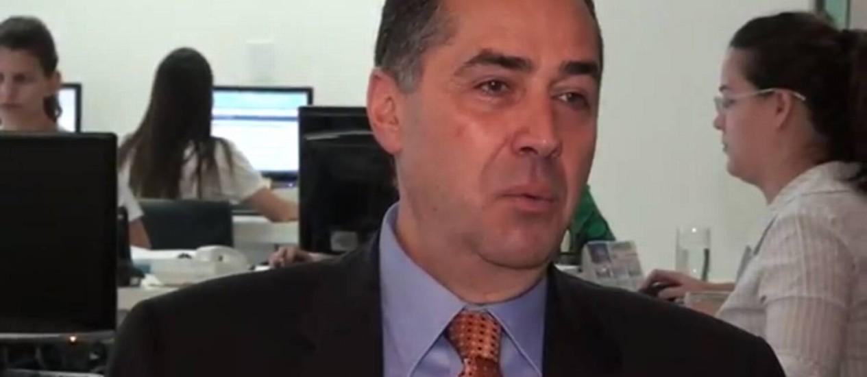 """Luís Roberto Barroso, novo ministro do STF, em entrevista ao site """"Migalhas"""" Foto: Reprodução"""