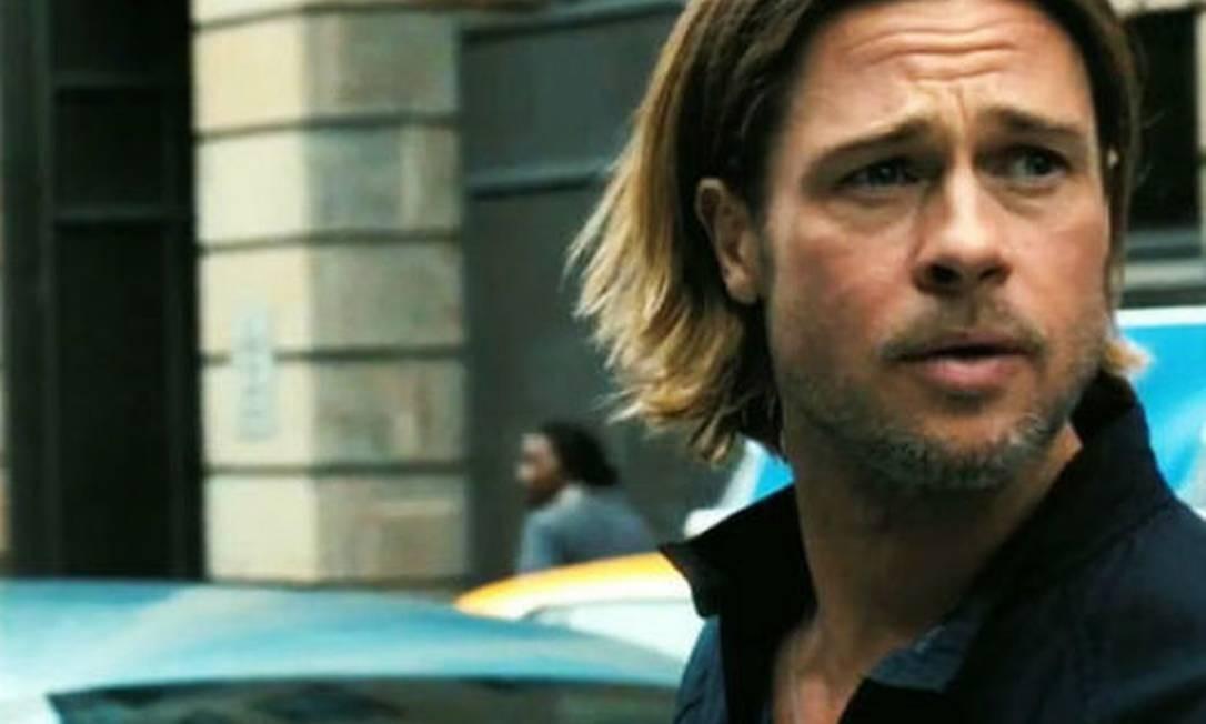 Brad Pitt estrela 'Guerra Mundial Z' Foto: Divulgação