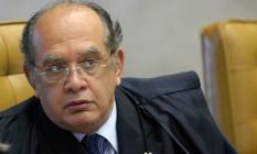 Ministro do STF, Gilmar Mendes Foto: STF
