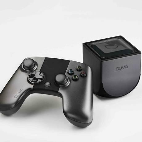 Ouya: console é baseado no sistema operacional Android Foto: Divulgação
