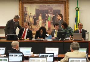 CCJ da Câmara aprova admissibilidade da PEC do voto aberto Foto: Ailton de Freitas / O Globo