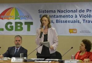 A ministra dos Direitos Humanos, Maria do Rosário Foto: Wilson Dias/ABr