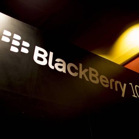 Lançado no fim do ano passado, sistema BlackBerry 10 é aposta da empresa para este ano Foto: Brent Lewin / Bloomberg