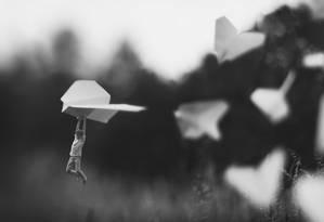 Zev Hoover, de 14 anos, criou projeto de fotografia