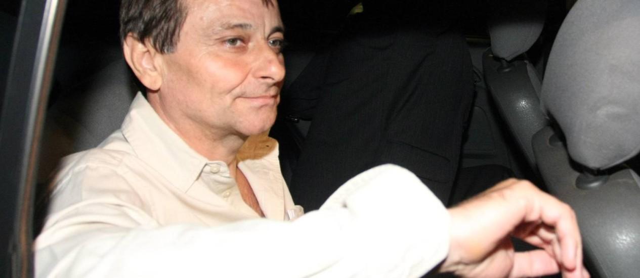 O Italiano Cesare Battisti Foto: Givaldo Barbosa / O Globo