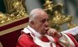 """Papa alertou a cúria sobre o """"perigo de pensar de forma mundana"""""""