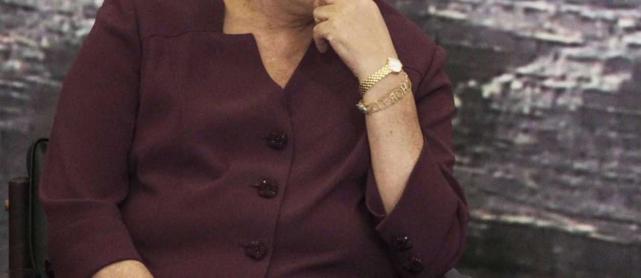 A presidente Dilma Rousseff: Datafolha mostrou forte queda na avaliação do governo, que caiu 27 pontos percentuais Foto: Jorge William/18-6-2013