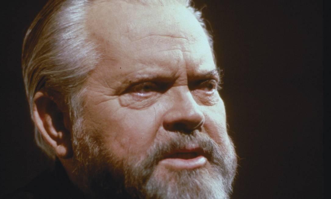 Orson Welles Foto: Arquivo