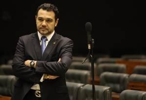 Deputado Marco Feliciano comemora pelo Twitter e diz que em 2015 bancada evangélica virá com 'força dobrada' Foto: André Coelho / O Globo