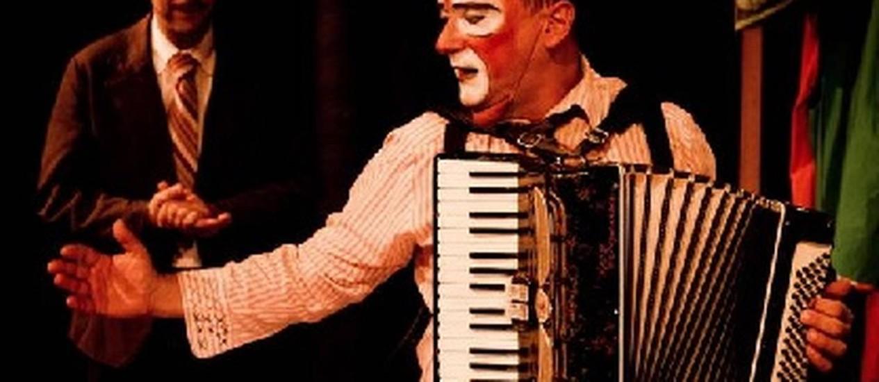 Danilo Grangheia é um comerciante, e Dagoberto Feliz, um 'clown' Foto: Divulgação / Renato Silvestre