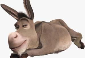 O burro da série cinematográfica Shrek mostra que animal é mais esperto do que se pensa Foto: Divulgação